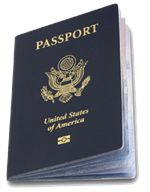 United State Passport book