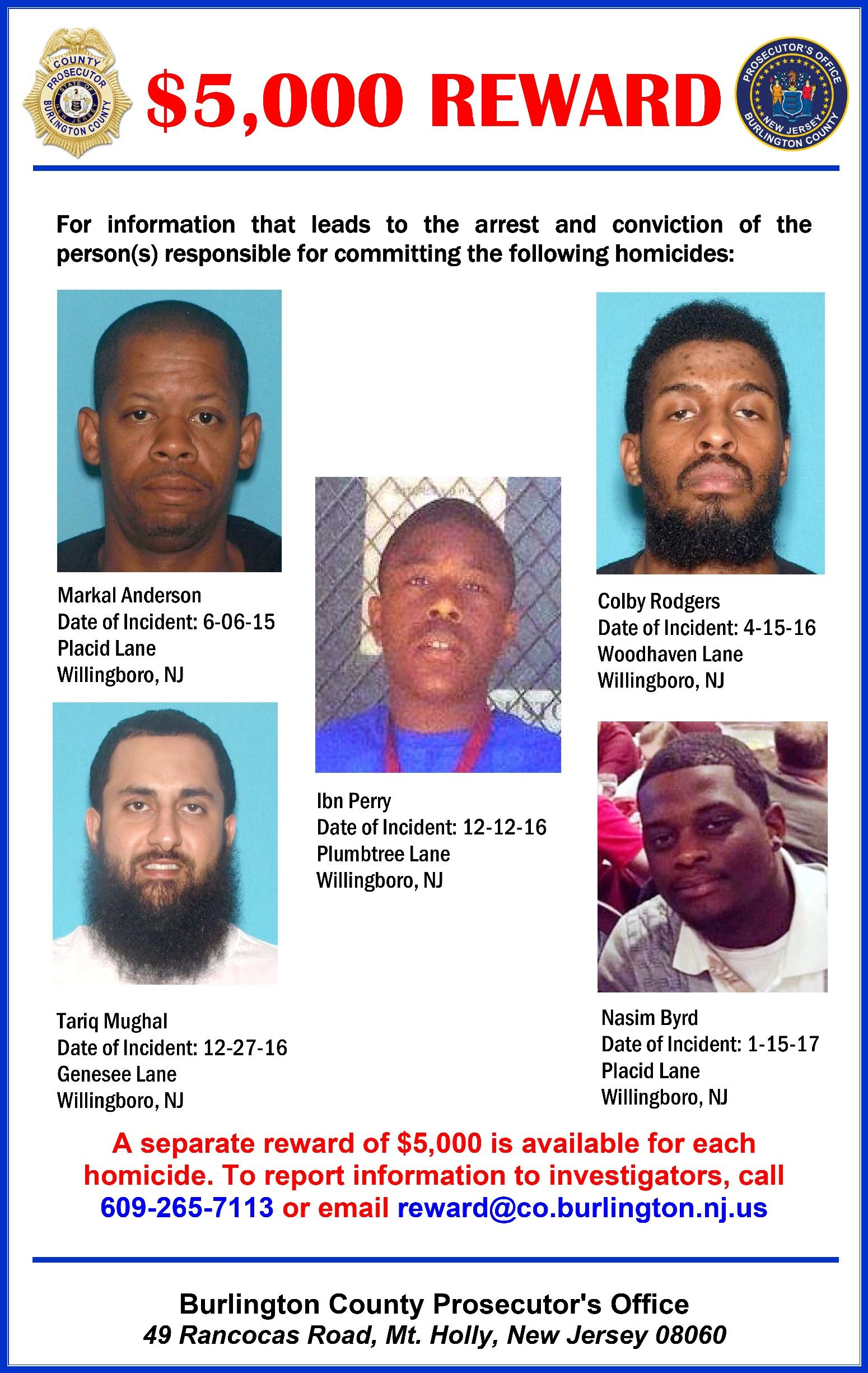 Willingboro Homicides Poster