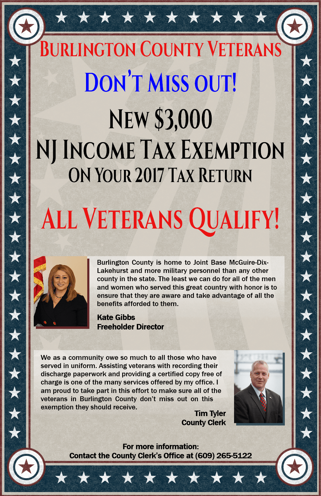 Veterans Income Tax Exemption