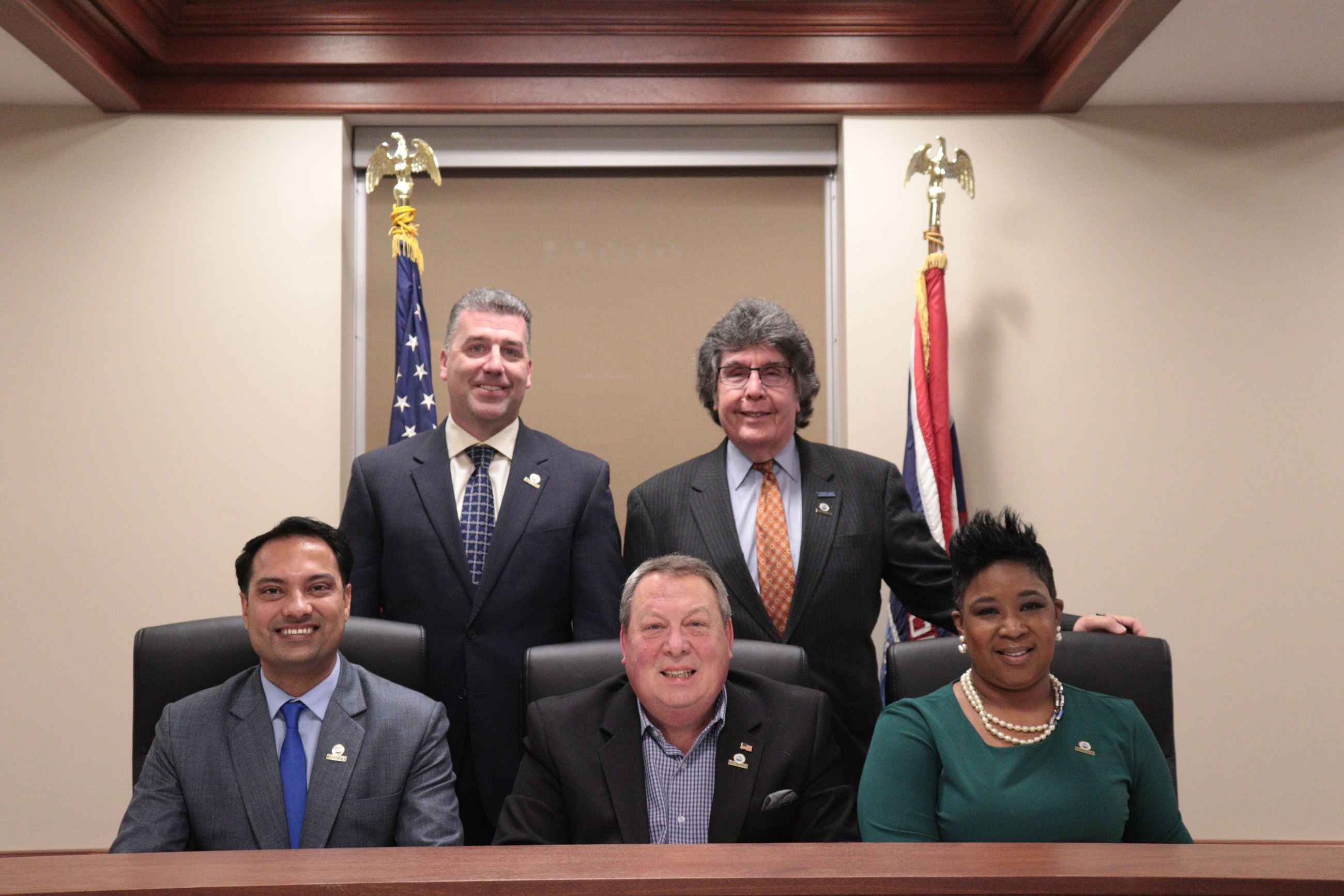 2019 Bulington County Board of Chosen Freeholders