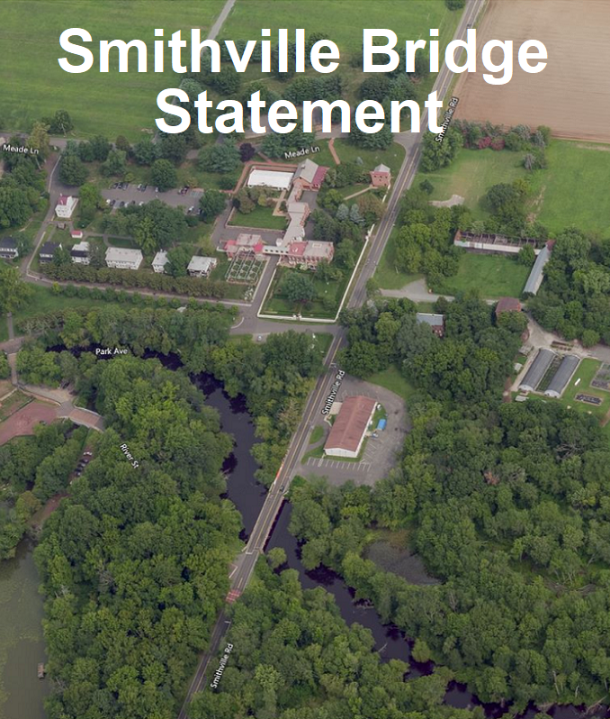 Smithville Bridge Statement